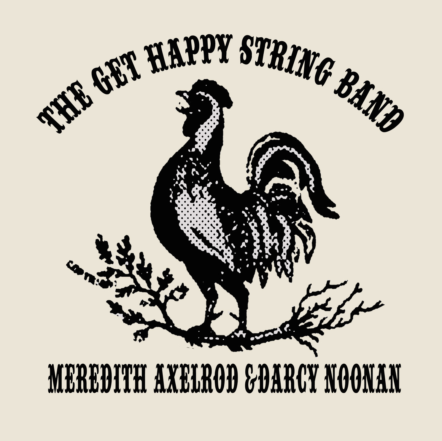 get happy string band logo
