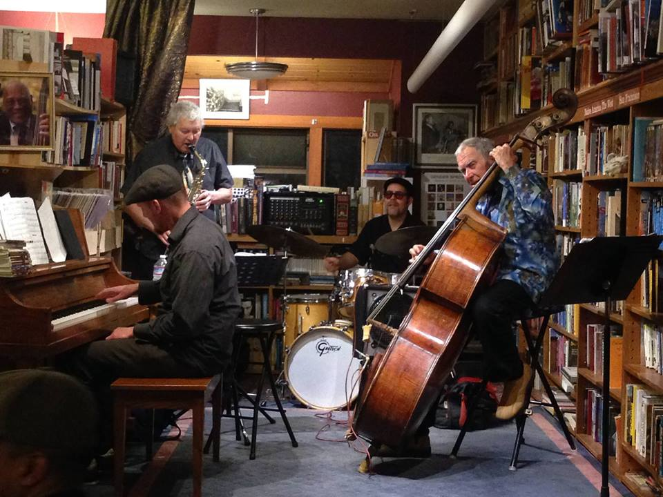 <strong>Friday, July 1st – 5:30-8 pm<br /><em>jazz in the bookshop</em><br />SeaBop!</strong>
